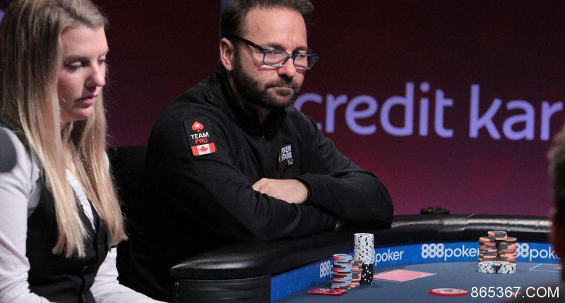 Daniel Negreanu:个人扑克累积收入超过1亿美元是有可能的