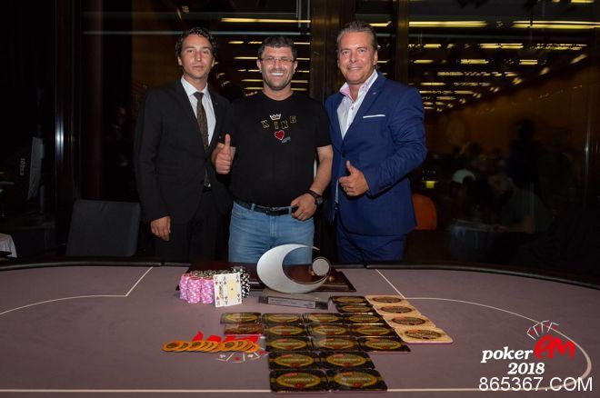 帝王娱乐场老板Leon Tsoukernik取得EM超级豪客赛冠军,奖金€370,000