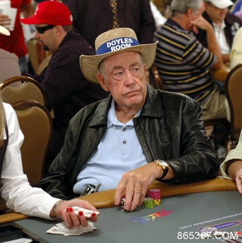 Doyle Brunson用在Bobby扑克室赢得的奖金买了一部新车