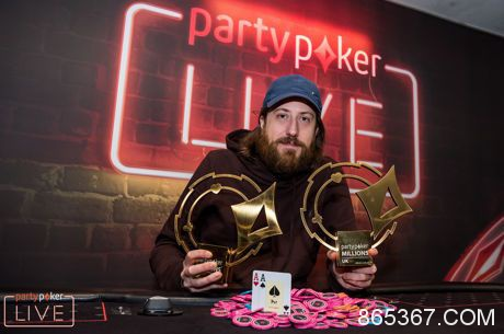 O'Dwyer再次取得partypoker LIVE百万赛事英国站豪客赛冠军!