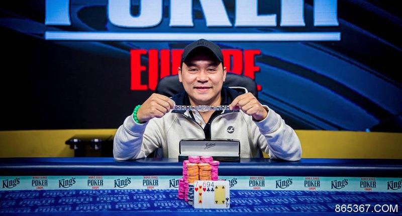 2018 WSOPE:Hanh Tran赢得 €550底池限注奥马哈赛事冠军