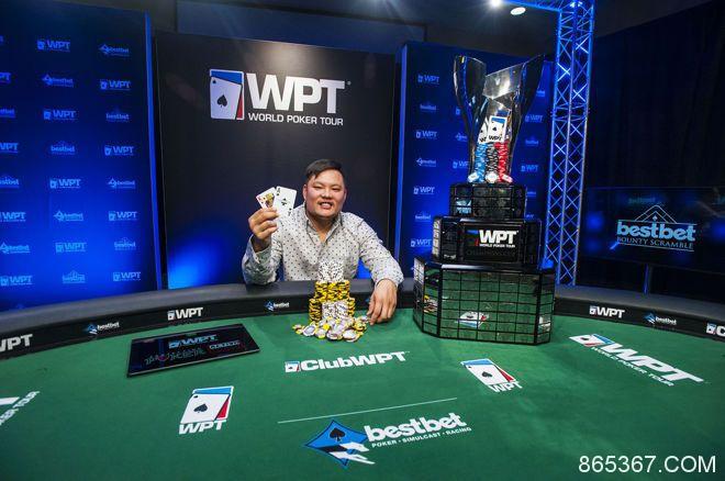 Tony Tran赢得WPT bestbet Bounty Scramble冠军!!!
