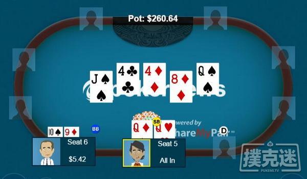 扑克策略:阻断牌与河牌圈诈唬判断