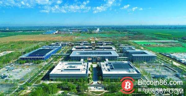 """中国""""区块链之城"""":雄安种树都要用到区块链"""