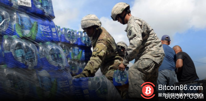 美国国防部说,区块链可以帮助改善救灾工作