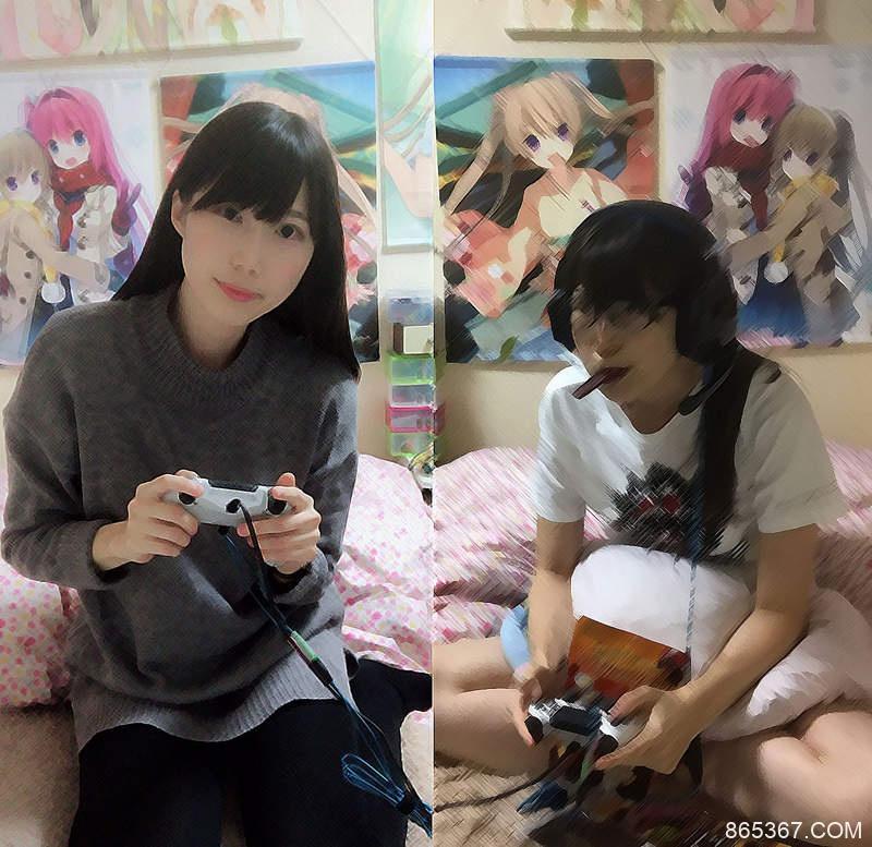 """游戏女孩的理想与现实 仓持由香房间可以看到打game女孩""""私生活"""""""