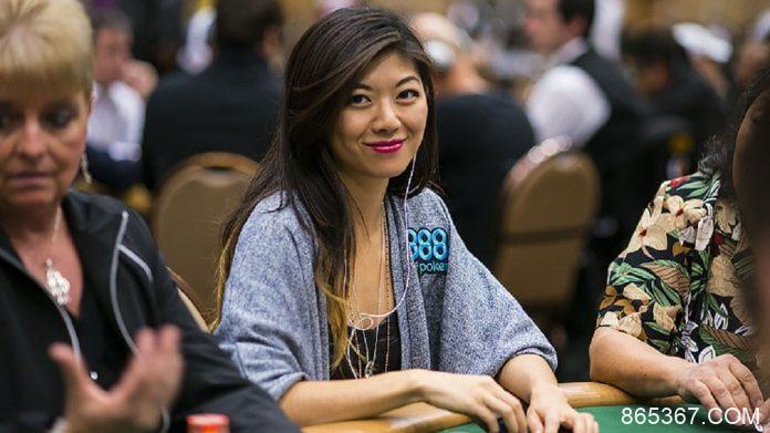 华裔扑克女赌神刘璇璇,靠德州扑克赢了5千万