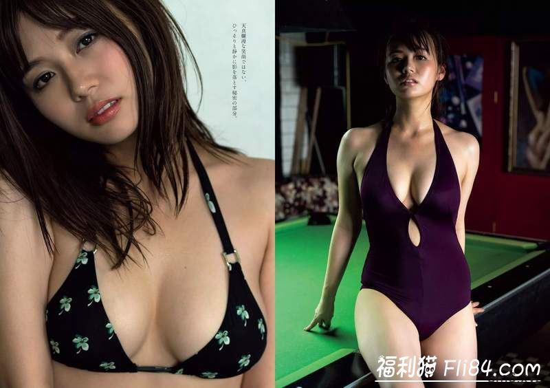 井口绫子:最理想的肉肉体型顶级名校女大生的写真特辑爽看一波!